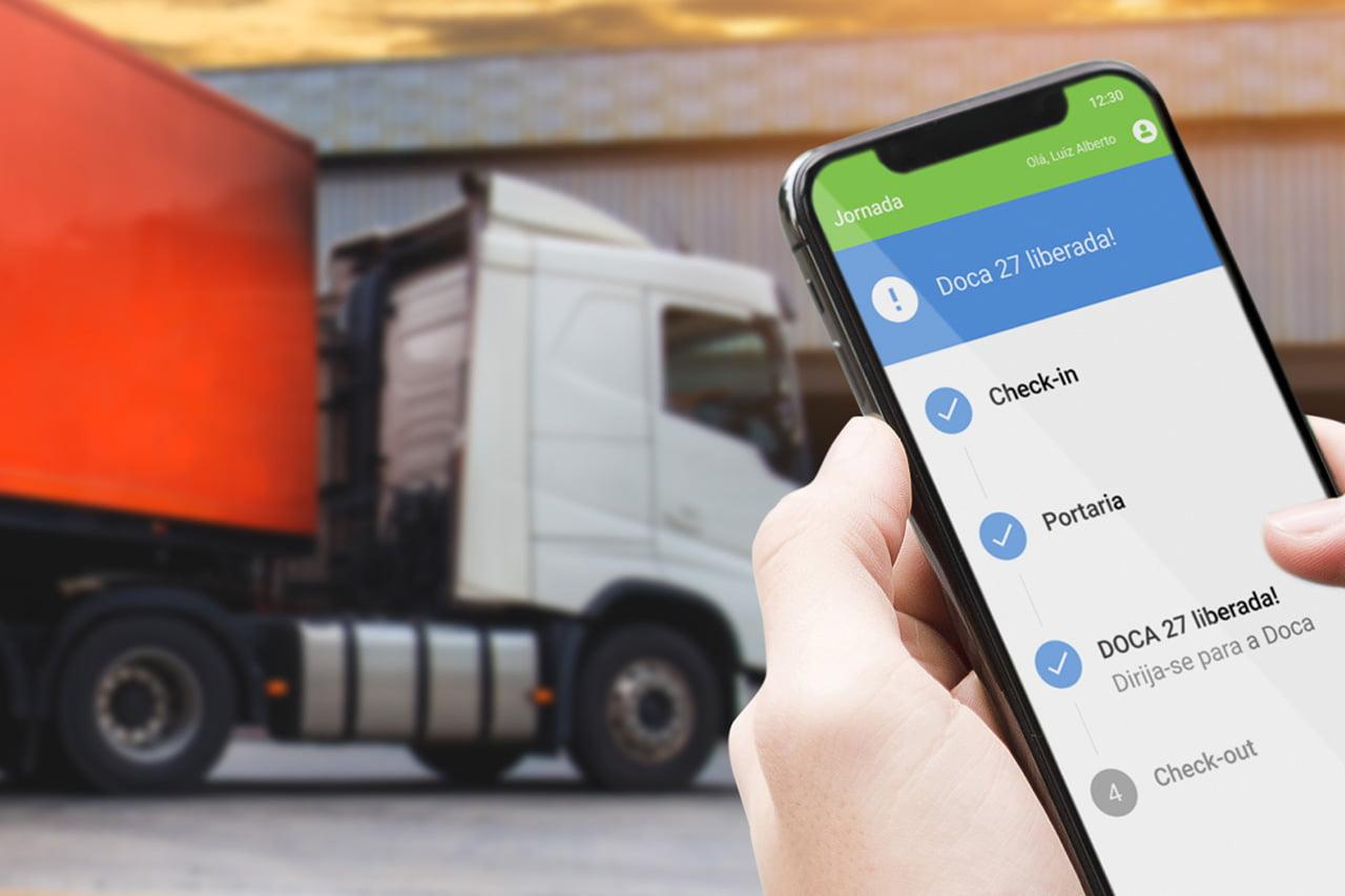 Solução da Trackage reduz em 62% o tempo de espera dos caminhoneiros